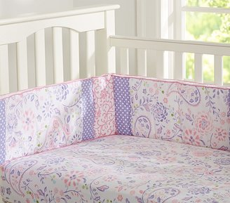 Pottery Barn Kids Simone Crib Fitted Sheet