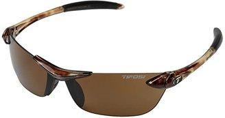 Tifosi Optics Seektm Polarized (Tortoise) Athletic Performance Sport Sunglasses