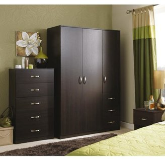 Panama 3-door, 3-drawer Wardrobe