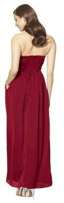 TEVOLIOTM Women's Satin Strapless Maxi Dress - Limited Availability Colors