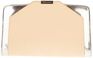 Trussardi box clutch