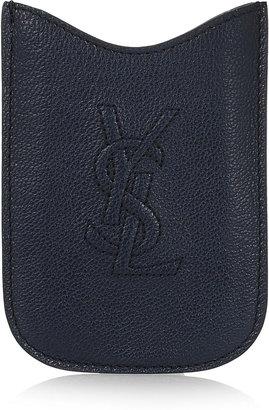 Yves Saint Laurent Belle Du Jour leather BlackBerry sleeve