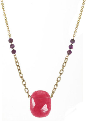 JCPenney FINE JEWELRY ROX by Alexa Dyed Pink Jade Necklace