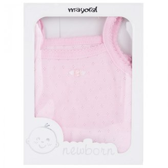 Mayoral Pink Pointelle Body