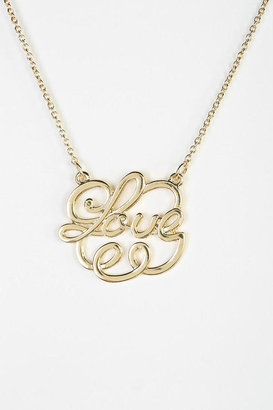 Urban Outfitters So In Love Necklace