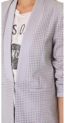 Style Stalker Stylestalker Perforated Blazer