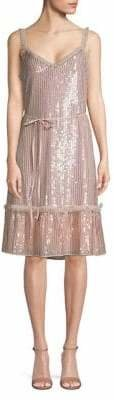 Needle & Thread Sequin Embellished Shift Dress