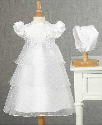 Lauren Madison Baby Dress, Baby Girls Christening Dress $65 thestylecure.com