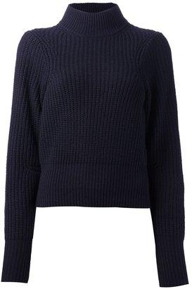 Acne 'Loyal' waffle knit sweater