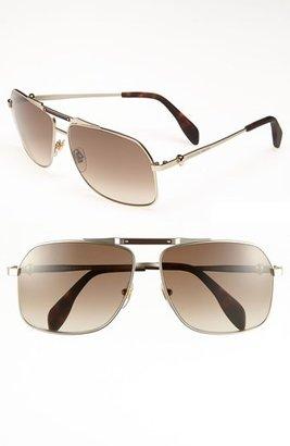 Alexander McQueen 61mm Aviator Sunglasses (Online Only)
