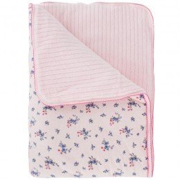 Juicy Couture Floral Baby Blanket