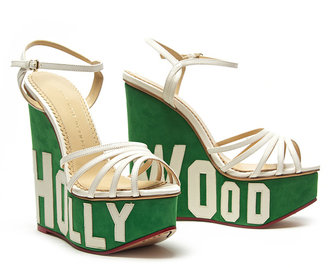 Charlotte Olympia Hollywood Wedge Sandal