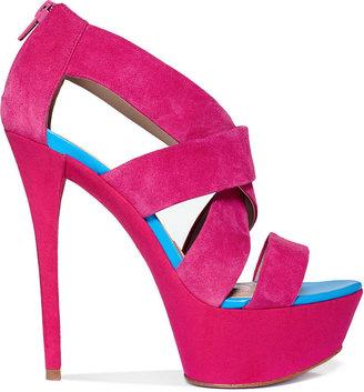 Paris Hilton Shoes, Dacia Platform Sandals