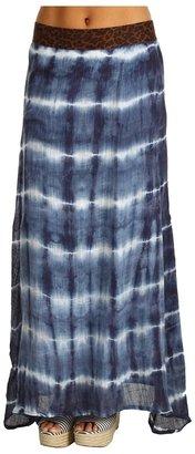 XCVI Drape Cocoon Skirt (Cain Denim) - Apparel