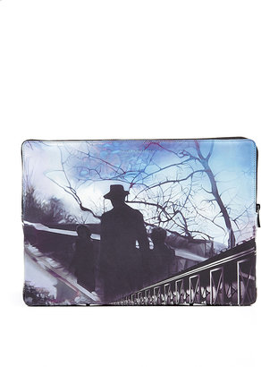 Mary Katrantzou Printed Leather Pouch in Freelago