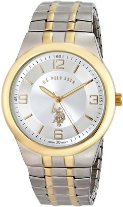 U.S. Polo Assn. Classic Men's USC80024 Two-Tone Analogue Silver Dial Expansion Watch