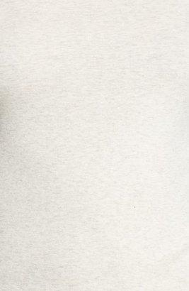 Caslon Long Sleeve Fine Ribbed Crewneck Tee (Regular & Petite)