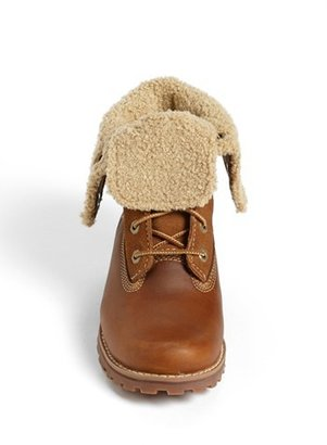 Timberland Genuine Shearling Boot (Toddler, Little Kid & Big Kid)