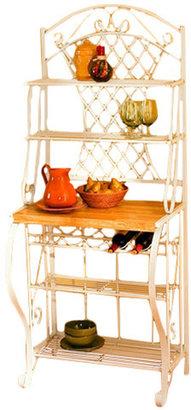 Wildon Home Orleans Trellis Baker's Rack