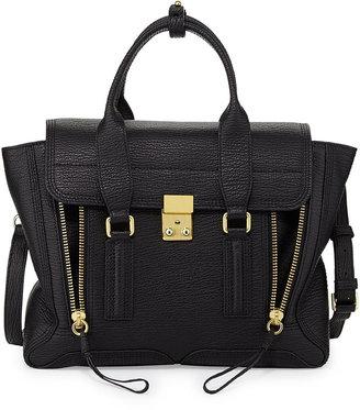 Phillip Lim 3.1 Pashli Medium Zip Satchel Bag, Black