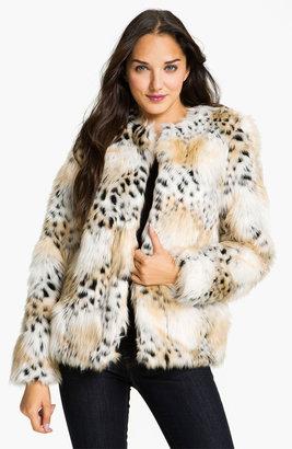 Betsey Johnson Faux Fur Jacket