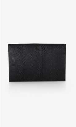Express Large Zip Front Fold-Over Clutch