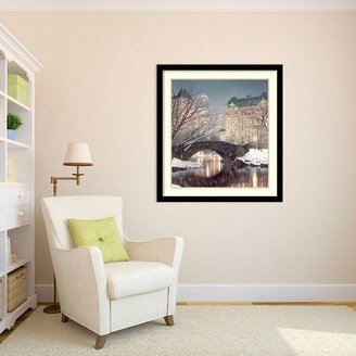 Amanti art ''Twilight in Central Park'' Framed Wall Art
