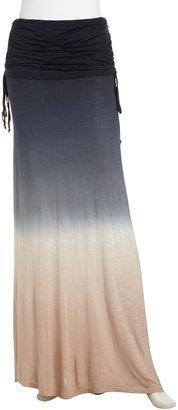 Young Fabulous & Broke Young Fabulous and Broke Sierra Maxi Skirt, Black Ombre