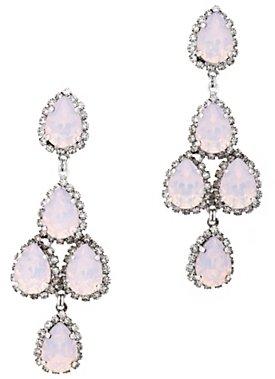 Erickson Beamon Moonstone Chandelier Earrings