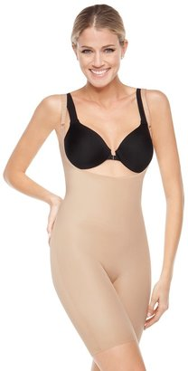 Spanx Slimplicity® Open-Bust Mid-Thigh Bodysuit