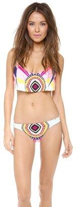 Mara Hoffman Rays Cropped Bikini Top
