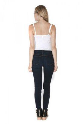 J Brand Midrise Super Skinny Jean
