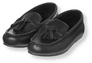 Janie and Jack Leather Tassel Loafer