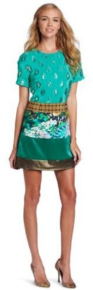 Tracy Reese Women's Patchwork Shift Dress