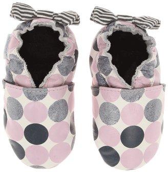Robeez Novelty Dot Soft Soles Girls Shoes