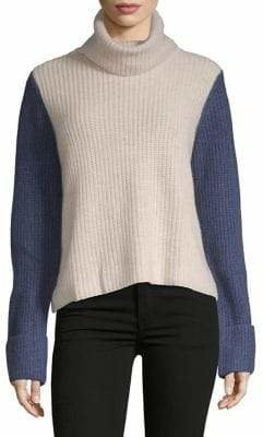 Autumn Cashmere Colourblock Cashmere Sweater