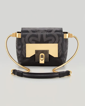 Lanvin For Me Small Embroidered Crossbody Bag