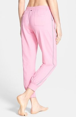Kensie 'Rosy Outlook' French Terry Ankle Pajama Pants