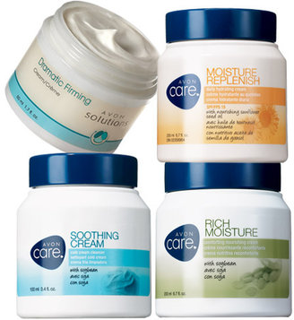 Avon Care & Solutions 4-Piece Pack of Moisture Creams