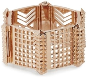 Eddie Borgo Perforated Plate Bracelet