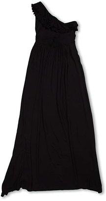fiveloaves twofish Bedouin Maxi Dress (Little Kids/Big Kids) (Navy) Girl's Dress