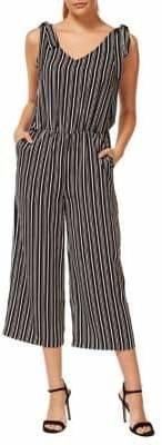 Dex Striped Blouson Jumpsuit