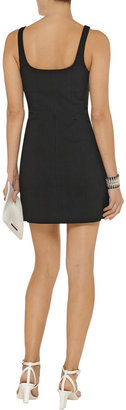 Alexander Wang Cotton-blend mini dress