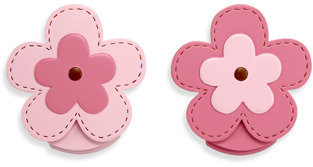 NoJo Flowers 2-Pack Wall Decor Clips