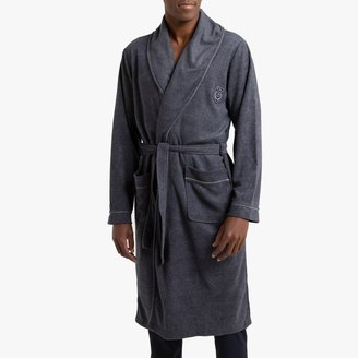 La Redoute Collections Long Bathrobe With Shawl Collar