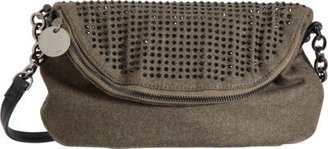 Deux Lux Studded Foldover Crossbody Bag