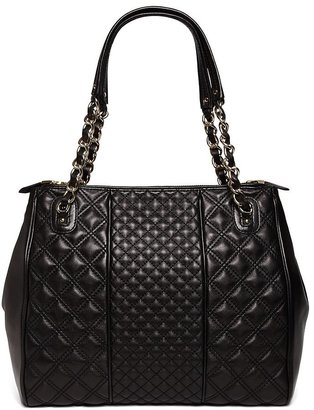 Brooks Brothers Quilted Lambskin Tote Bag