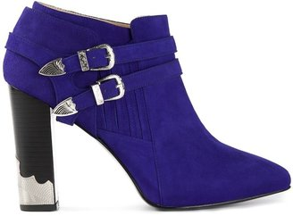 Toga Pointed Toe Ankle Boot