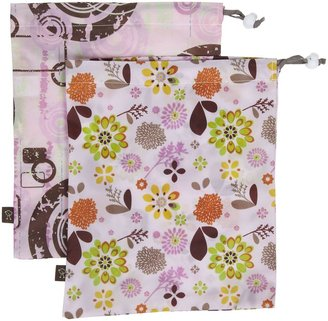 """Kushies On the Go"""" Wet Bags - 2 Large - Neutral"""
