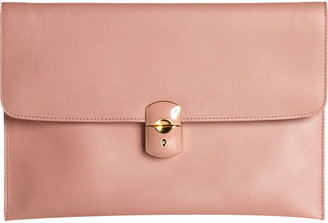 Balenciaga Padlock Evening Clutch